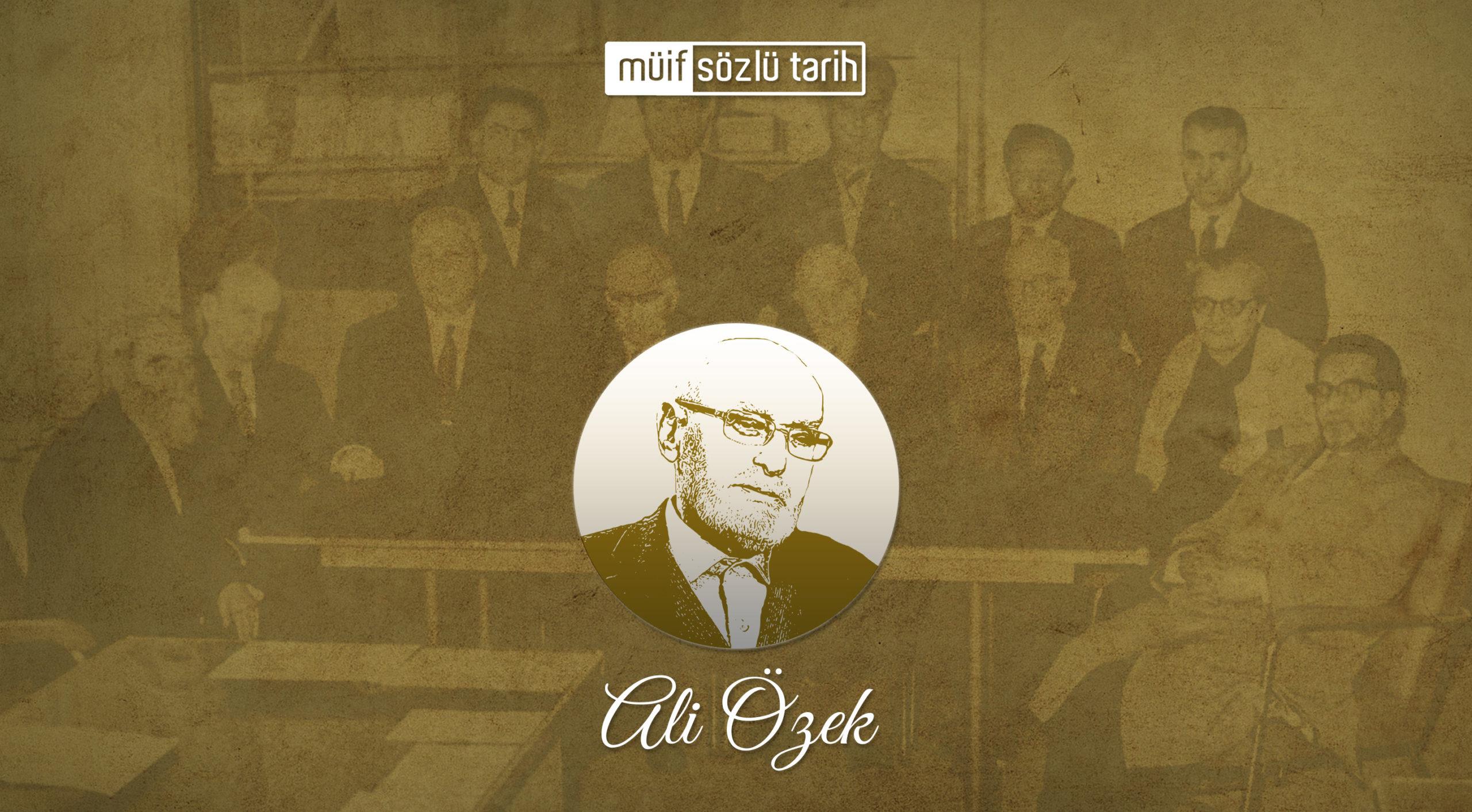 Prof. Dr. Ali Özek
